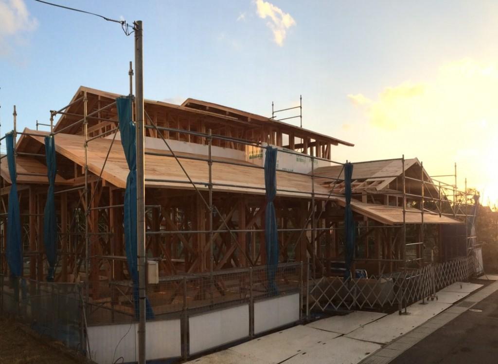 [建て方]胎内市(和風住宅、新築) | 現場通信 - 重川材木店